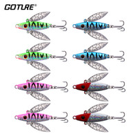 Wholesale ice fishing lures for for sale - Group buy Goture Winter Ice Fishing Lure Artificial Lure Leurre Balancer for Fishing Carp Walleye Pike Perch g cm Hooks