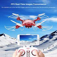 Wholesale syma x5uw online - Original Syma X5UW X5SW X5HW Upgrade Phone Controlled Aerial Drone with Wifi FPV P HD Camera Quadcopter with App Control