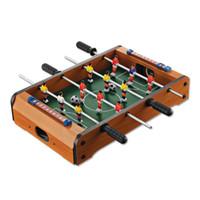 conjunto de mini-mesa venda por atacado-Inteligência Clássica Futebol Futebol Mesa de Aprendizagem Educação Portátil Mini Jogo de Mesa Set Bolas de Desenvolvimento Brinquedos Para Adultos Crianças 32hy W