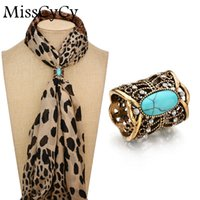 Wholesale Vintage Scarf Pin - MissCyCy Cameo Scarf Clip Vintage Brooch Hollow Butterfly Rhinestone Brooches Women Metal Brosh