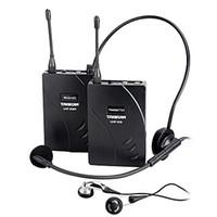 uhf transmissores venda por atacado-Original Takstar UHF-938 / UHF 938 Sem Fio Sistema de Guia Turístico freqüência UHF microfone sem fio Transmissor + Receptor + MIC + fone de ouvido
