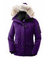 gänsehaut mäntel frauen verkauf großhandel-2018 Rushed Sale Damen Outdoor Smanufacturer Großhandel Gänsedaunenjacke Winter Thermische Verdickung Kurze Winddicht Trim Coat Xs-2xl