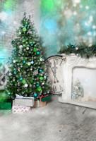 açık hava noel fotoğrafı arka plan toptan satış-Toptan Noel Zemin Açık Havada Fotoğraf Arka Planında Fotoğraf arka plan Kış Scence Bebek duş çocuk resimleri Xt-6941