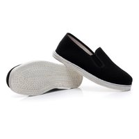 Wholesale clothing canvas shoes resale online - unisex china tai chi shoes handmade clothing sole kung fu shoes for martial arts wing chun