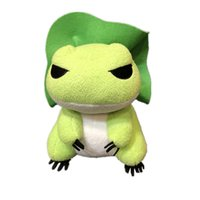 Wholesale Frog Soft Toy - 20cm (8inch) Travel frog Stuffed Plush Newest Game Plush Toy Cartoon Frog Soft Stuffed Doll Children Kids Toys Gift B