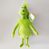 Wholesale Hot Sale cm How the Grinch Stole Christmas Plush Toy Stuffed Doll For Kids Best Holiday Gifts