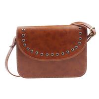 женские кожаные сумки hobo оптовых-INS Hot Fashion Grils Women Handbag Shoulder Bags Tote Leather Messenger Hobo Bag for photograph X# dropship