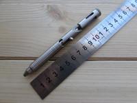 boker edc toptan satış-CNC İşlenmiş Boker Artı 09BO089 CID CAL.45 TC4 titanyum alaşım taktik Cıvata kalem savunma survival kurtarma kalem EDC araçları tükenmez kalem hiçbir logo