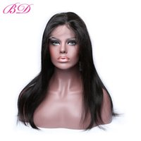 Wholesale Glueless 22 Inch Lace Wig - BD Glueless Lace Front Wigs Malaysian Human Hair Wigs Straight Malaysian Virgin Hair Natural Hairline Wigs For Black Women 8-24 Inch