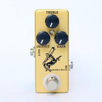 ingrosso pedali di overdrive di chitarra-Mosky Audio Golden Horse Chitarra effetto pedale Overdrive Boost MINI Klon Centaur