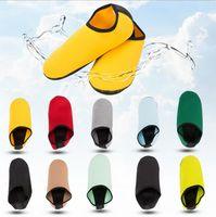 Wholesale fin socks - Wholesale Short Beach Socks Diving Socks Non-slip Antiskid Scuba Dive Boots Snorkeling Sock Swimming Fins Flippers Wetsuit Shoes GH233