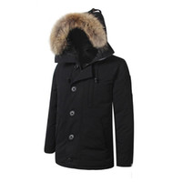 Wholesale Gold Goose - Goose Winter Parka Man Canada New Arrival Sale Men's Guse Chateau Black Navy Gray Down Jacket Winter Coat Parka Sale With Outlet