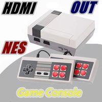 sistemas de juegos de mano al por mayor-HDMI Out Retro Classic Game TV Video Consola portátil Sistema de entretenimiento Juegos clásicos para NES Mini Game F-JY