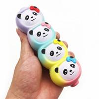 juguetes de cuerda niños al por mayor-Squishy Fun Bear String Slow Lising Descompresión Juguetes Jumbo Bread Squishies Para Adultos Y Niños Reduce el Estrés 24dq CB