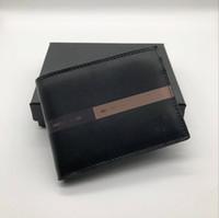 neue gute fotos großhandel-Neue Herren Leder Kurze Clip Wallet Holder MT Geldbörse MB Deluxe Card Pack Kreditkarteninhaber Pocket Foto M B Wallet Box GUTE