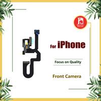işık kamerası toptan satış-Ön Küçük Kamera iPhone 5 5 s 5c SE 6 artı 6 s 6 S ARTı 7 8 Artı X Yakınlık Sensörü Işık Flex Değiştirme