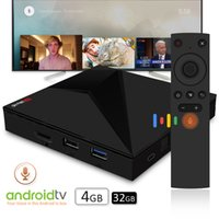 Wholesale android tv boxes rockchip online - High Quality android tv box X88 GB GB Rockchip RK3328 Voice control tv box support BT4 G G WiFi Type C USB3 K Ultra HD D