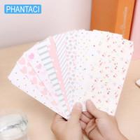 Wholesale Cute Korean Paper Envelope - Wholesale- 10 pcs lot Korean Romantic Stationery Envelope Cute Dots Love Flower Fresh Paper DIY Tool Greeting Card Cover Scrapbooking Gift
