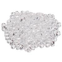 искусственные бриллианты свадебные украшения оптовых-Ясно искусственной поддельные алмазы посыпать мигать конфетти ремесло DIY свадьба столешница рассеивает украшения 4.5 мм 15000 шт.