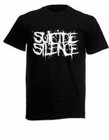 Wholesale loom bands online - Suicide Silence Band Black New T Shirt Fruit of the Loom ALL SIZES Customize Tee Shirts