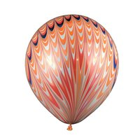 Wholesale Latex Flowers Balloon - New Pattern Children Birthday Peacock Tail Latex Ornament Balloons 18 Inch Party Decoration 5 Color Selectable Novelty Toy 15lj W