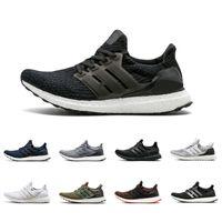 online store 25fb4 b6b3c Adidas Ultra boost 3.0 III Uncaged Running Shoes Uomo Donna Ultraboost 4.0  IV Sneaker Primeknit Runs White Nero Athletic Scarpe sportive 36-45