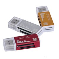 m2 connector NZ - multi card in 1 USB 2.0 adapter connector micro SD TF M2 memory stick MS Duo RS-MMC memory reader