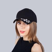 chinês chapéu venda por atacado-NOVA Alta Qualidade Hip hop caracteres Chineses bordado boné de beisebol dos homens e mulheres chapéu pára-sol ajustável chapéu de língua de pato JX705B