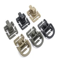 Wholesale clip backpack - Sports Outdoors Streamer Cilp 360 Rotation D-ring Hooks Clips Buckle Webbing Man Attachment Backpacks Locking Carabiners 0 35dt bb