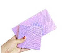 пустые магнитные палитры оптовых-Новый горячий макияж паллет тени для век пустой магнитной палитры блеск рыбы-масштаб узоры тени для век дело косметические контейнеры