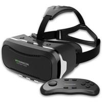 shinecon vr realidad virtual para smartphone al por mayor-Nueva VR II Shinecon 2.0 Casco de Realidad Virtual de cartón Vidrios del teléfono móvil 3D de vídeo de la película de 4,7 a 6,0