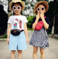 petites bourses pour les enfants achat en gros de-Kids West Sacs Classique Bébé Filles Sac À Main Petits Enfants Porte-Monnaie INS Chaud PU Chaîne En Métal Messenger Sac À Bandoulière