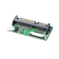 """teclado a1465 venda por atacado-1.8 """"ZIF / LIF SSD da unidade de disco rígido do CE HDD a 7 + 15 conversor do adaptador de 22 Pin SATA"""