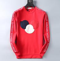 europäische männer s kleidung großhandel-Herbst und Winter Herren-Modedesigner-Sweatshirt Herren und Damen Langarmbekleidung im europäischen und amerikanischen Stil