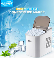 Wholesale home shopping kitchen online - Portable Ice Maker Machine KG Capacity Electric Ice Maker Drinks Coffee shop Home Kitchen Ice maker Minutes Make complete DHL