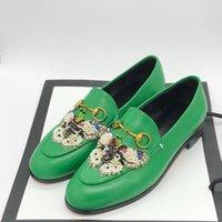 женские приколы оптовых-Ручной Алмаз бабочка обувь дамы horsebit мокасины ретро кожа плоский женский jordaan обувь платье кляп бит мокасины обувь