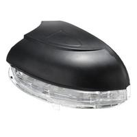 vw sürücüsü toptan satış-Dönüş Sinyali Işık Lambası Sağ / Sol Sürücü Kapalı Yan LED Ayna Gösterge Lambası VW Golf MK6 2009-2012 Için