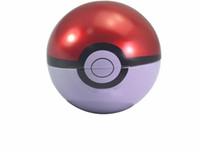 metall-dosen süßigkeiten-box großhandel-Neueste Ball Shaped Metall Geschenkbox 70mm Durchmesser Candy Schmuck Dosen Aufbewahrungsbox Für Kinder Weihnachtsgeschenk Party Favor