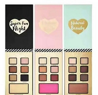 Wholesale Fun Nights - Hot best year ever set Christmas EyeShadow 7 color with three type i believe in pink  natural beauty  super fun night Palette kits