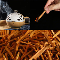 Wholesale sandalwood stick incense - 1 Bag 7CM Sandalwood Wood Incense Sticks Irregular Resin Incense 50g Pure Real