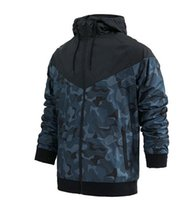 Wholesale clothes young men for sale - Brand NK Casual Windbreaker Jacket Mens Clothing Coats Spring Autumn New Fashion Slim Thin Young Hip Hop Men Hooded Jackets N