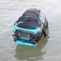 03ed8edf961 30L Waterproof Backpack Dry Bag Swimming Bag Adjustable Shoulder Strap Floating  Dry Sack for Sailing Floating Boating Rafting
