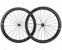 Wholesale carbon bicycle wheels sales for sale - Group buy FANTECY Hot sale C mm depth road bike Full carbon wheels mm width Clincher Tubular road bicycle carbon wheelset with Powerway R51 hub