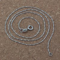 """Wholesale Mic Ladies Fashion - MIC 40pcs New Fashion ladies necklace Stainless Steel Necklace Chain 17.7 """" A-155d"""