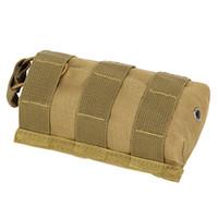 multi-walkie großhandel-Outdoor Taschen Anhänger Paket für M4 M16 Beutel Magazintaschen Outdoor Taktische Walkie Talkie Taschen Molle Gewehr Mag Tasche