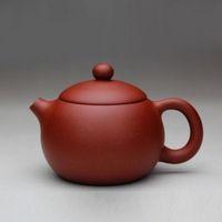 Wholesale zisha yixing teapots resale online - Chinese Yixing clay handmade zisha teapot qingshui ni xishi tea pot