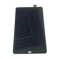 pantalla lcd e touch al por mayor-NUEVA Pantalla LCD de Pantalla Táctil Digitalizador para Samsung Galaxy Tab E 9.6 T560 T561 Wi-Fi Negro / Blanco Con Vidrio Templado Logística de DHL