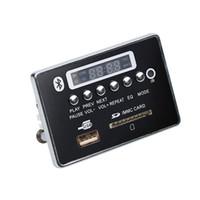 carro integrado venda por atacado-Kebidumei Alto Desempenho Sem Fio MP3 Player Integrado Decodificador Board Módulo de Áudio USB Para Aux Car Digital LED