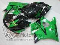 Wholesale Honda Cbr F2 Fairings - Motocycle fairings for HONDA CBR600 F2 91 92 93 94 CBR600F2 1991 1992 1993 1994 CBR 600 custom fairings set Green A3242