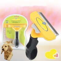 Wholesale sport dog supplies for sale - Pet Dog Hair Comb Deshedding Removal Brush Hair Clipper Dog Cat Combs Cat Grooming Supplies Tool OOA5635